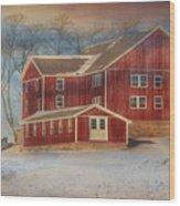Hegins Valley Wood Print