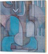 Hei Tiki Wood Print
