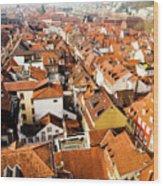 Heidelberg Cityscape Wood Print