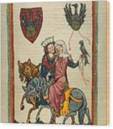 Heidelberg Lieder Wood Print