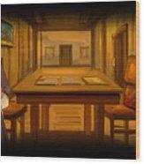 Heileen 1 Sail Away Wood Print