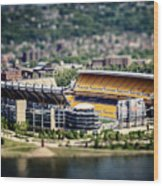 Heinz Field Pittsburgh Steelers Wood Print