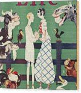 Held: Magazine Cover, 1926 Wood Print