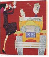 Held: Sheik & Sheba, 1925 Wood Print