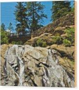 Helen Hunt Falls Wood Print