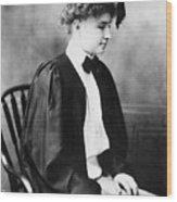 Helen Keller (1880-1968) Wood Print