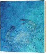 Helene's Crab Wood Print