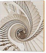 Helix Vertigo Wood Print