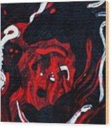 Hell Beast Wood Print