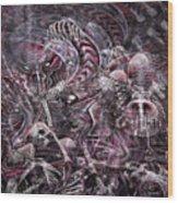 Hell Burial Wood Print