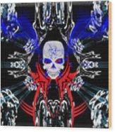 Hell Rider Wood Print