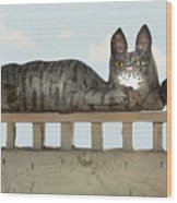 Hello Kitty Wood Print