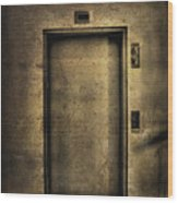Hells Elevator Wood Print