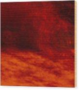 Hells Fire Wood Print