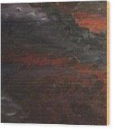 Hell's Fury Wood Print