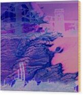 Hells Gate Wood Print