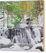 Hells Hollow Falls 1 Wood Print
