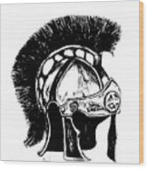 Helmet Of Salvation Wood Print