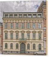 Helsingborg Building Frontage Wood Print