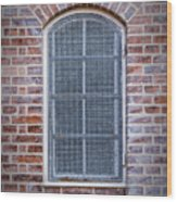 Helsingor Grilled Window Wood Print