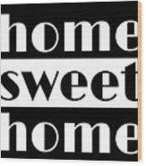 Heme Sweet Home Wood Print