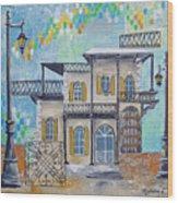 Hemingway Houses Wood Print