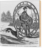 Hemmings Unicycle, 1869 Wood Print by Granger