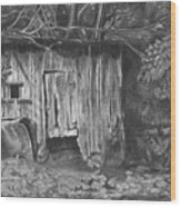 Hen House  Wood Print