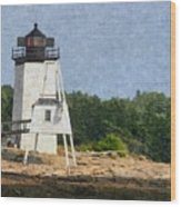 Hendricks Head Lighthouse Wood Print