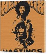 Hendrix 1967 Wood Print
