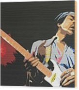 Hendrix 4 Wood Print
