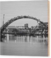 Henley Street Bridge Renovation 3 Wood Print