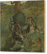 Henri From Toulouse-lautrec 1864 - 1901 Allegory, The Life Spring Wood Print