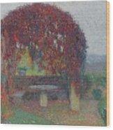 Henri Jean Guillaume Martin 1860 - 1943 The Bower Flowers Wood Print