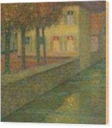 Henri Le Sidaner 1862 - 1939 Home Channel Wood Print