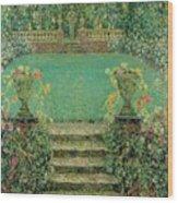 Henri Le Sidaner 1862 - 1939 Market Garden, Gerberoy Wood Print