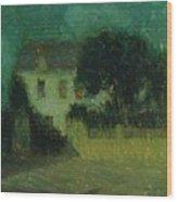 Henri Le Sidaner 1862 - 1939 Moonlight Wood Print