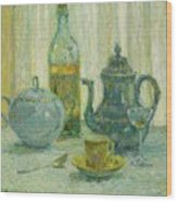 Henri Le Sidaner 1862 - 1939 Still Life Wood Print