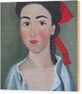 Henrietta Wood Print