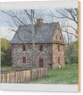 Henry Antes House Wood Print