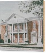 Henry County Courthouse Wood Print