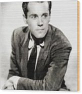 Henry Fonda, Hollywood Legend Wood Print