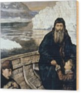 Henry Hudson And Son Wood Print