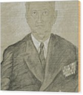 Henry K. Hewitt Wood Print