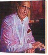 Henry Mancini Wood Print by David Lloyd Glover