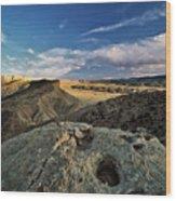 Henry Mountain Wsa Wood Print by Leland D Howard