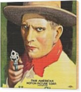 Henry Starr In A Debtor To The Law 1919 Wood Print