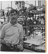 Henry Taube, Canadian-american Chemist Wood Print