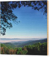 Hensley Hollow Overlook Wood Print