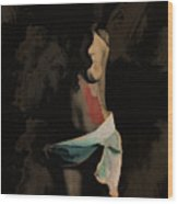 Her Body Wood Print